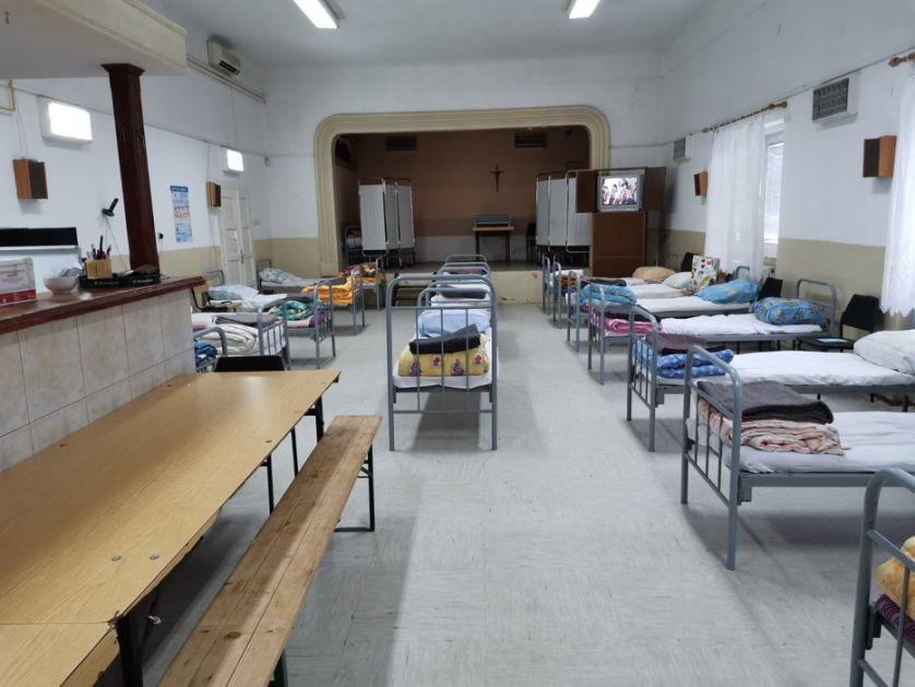 Zatvoreno privremeno prihvatilište za beskućnike u Subotici