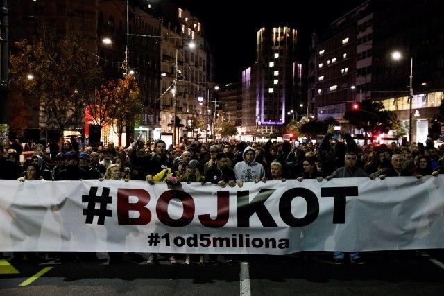 Završen protest Jedan od pet miliona