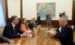 Završen razgovor Vučića i Harčenka: O sastanku sa ruskim ambasadorom predsednik će izvestiti javnost tokom dana