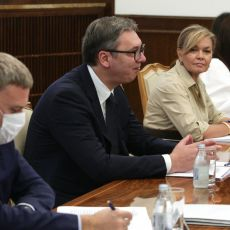 Završen sastanak na Andrićevom vencu: Vučić razgovarao sa poslanicima Evropskog parlamenta