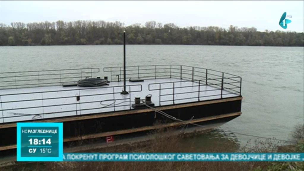 Završena izgradnja pontona u Sremskim Karlovcima