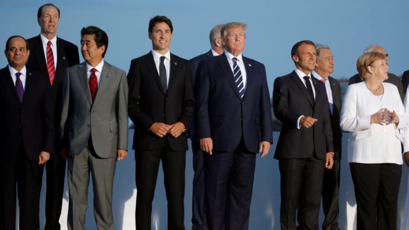 Završno obraćanje na G7: Nada u samit Trampa i Rohanija