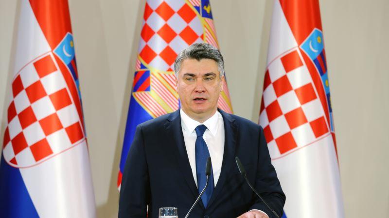 Zbog natpisa 'Za dom spremni', Milanović odbio učešće na godišnjici akcije Maslenica '93.