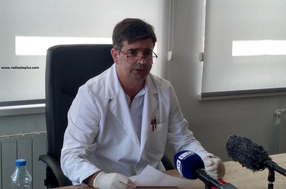 Zbog povećanog broja zaraženih ponovo se formira privremena bolnica u Banji