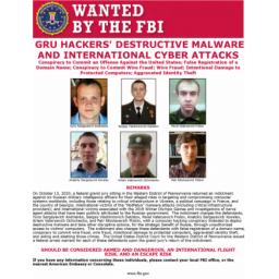 Zbog sajber napada i korišćenja destruktivnih malvera, SAD podigle optužnicu protiv šestorice oficira ruske obaveštajne službe