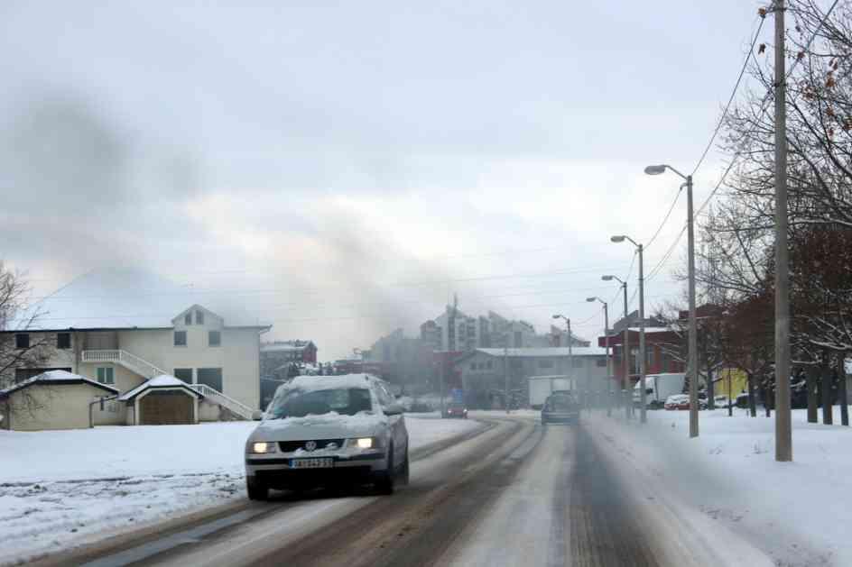 Zbog snega saobraćaj otežan, 1.800 putara na terenu