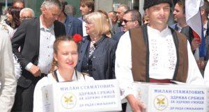 Zdrava Srbija predala listu za lokalne izbore u Užicu