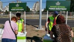 Zelena stranka skuplja potpise za sprečavanje seče drveća na Košutnjaku