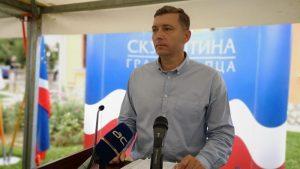 Zelenović: Među Šapčanima testiranim na koronu 70 odsto pozitivnih