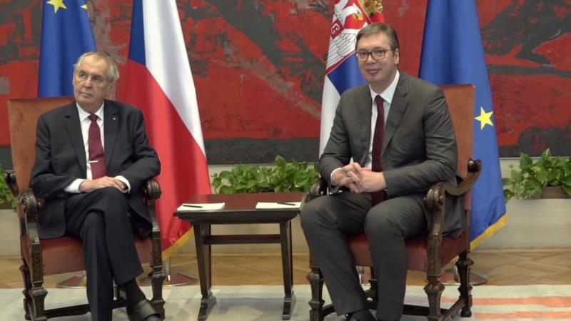 Zeman nagovestio da će postaviti pitanje o preispitivanju češkog stava o nezavisnosti Kosova