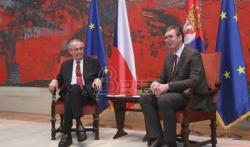 Zeman nakon sastanka sa Vučićem: Postaviću pitanje mogućnosti preispitivanja stava o Kosovu