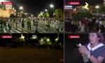 Žena sa demonstracija ponizila televiziju N1 (VIDEO)