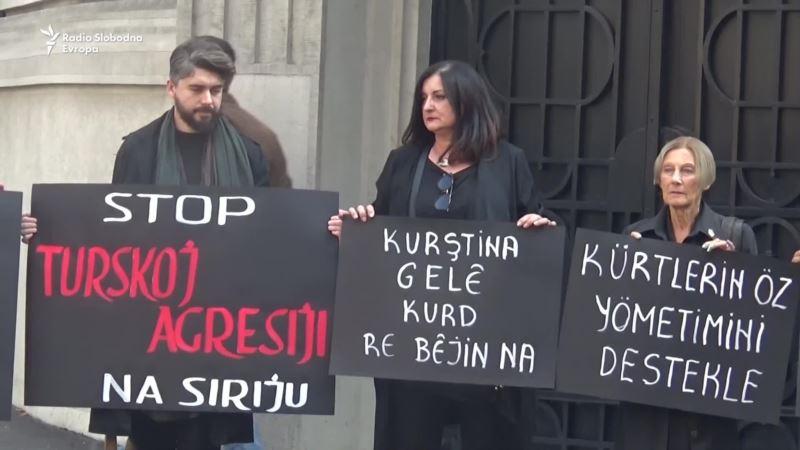 Žene u crnom protiv turske ofanzive u Siriji