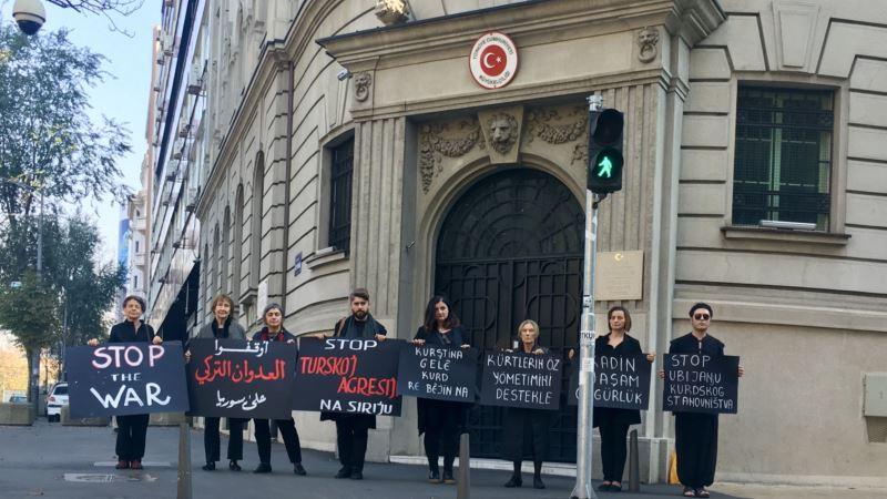 Žene u crnom za obustavljanje turske ofanzive u Siriji