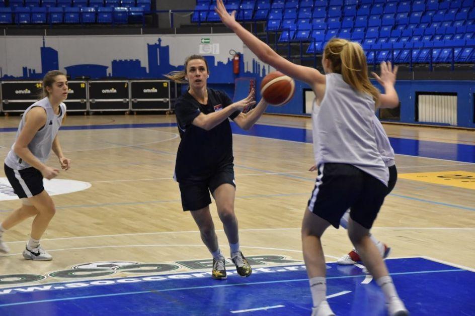 Ženska košarkaška reprezentacija sve jača na Zlatiboru