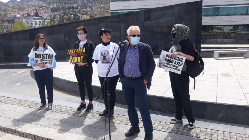 Ženski marš pokreće krivične prijave protiv nadležnih u bh. institucijama vlasti