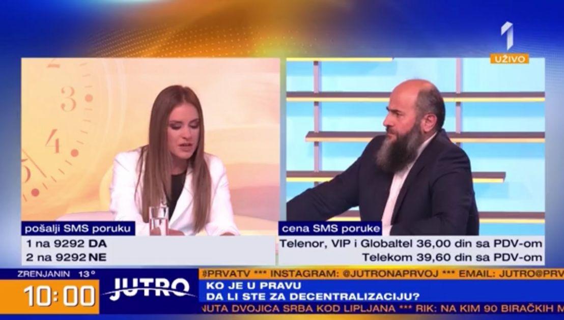 """Žestok TV duel akademika Zukorlića sa predstavnicom Zavetnika o Sandžaku i """"danku u krvi"""""""