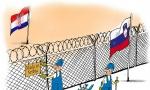 Zid između Slovenije i Hrvatske podižu - Srbi