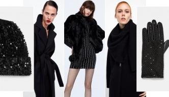Zima, glamur i crna boja uz 15 best-buy komada iz Zare