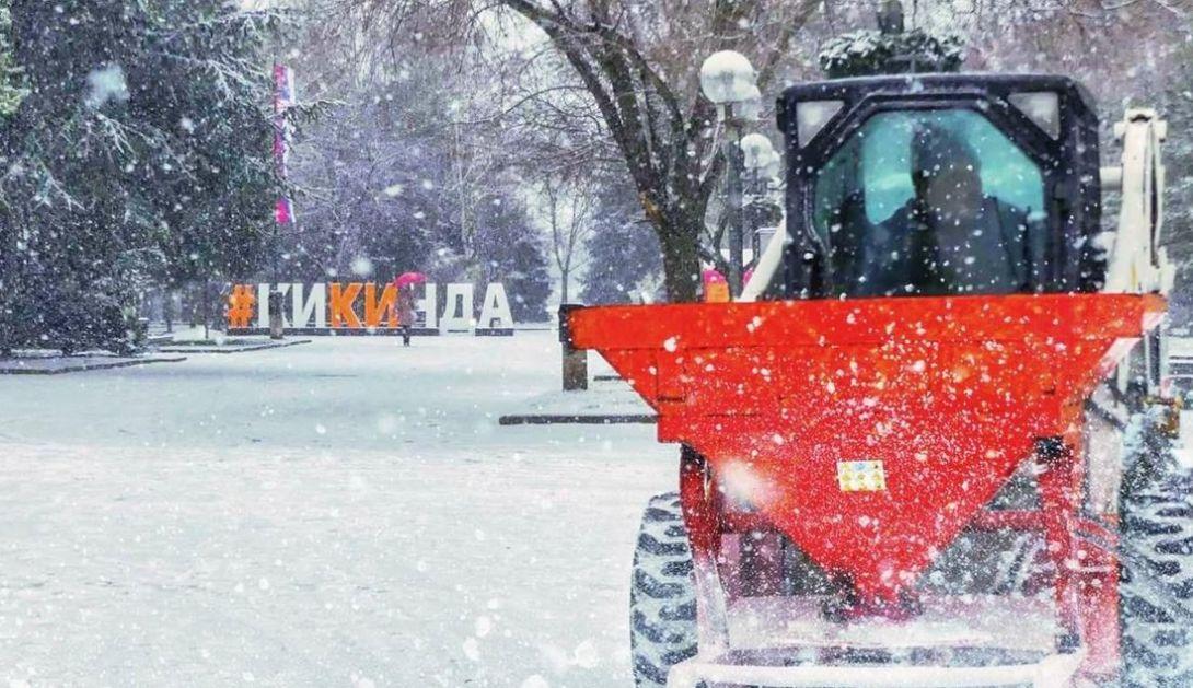 Zimska služba u Kikindi intervenisala na vreme