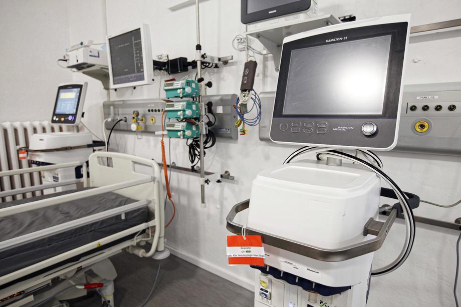 Zlatiborski okrug: Porast broja pacijenata na respiratorima