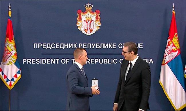 Zlatna medalja za Vitalija Solonjeckija