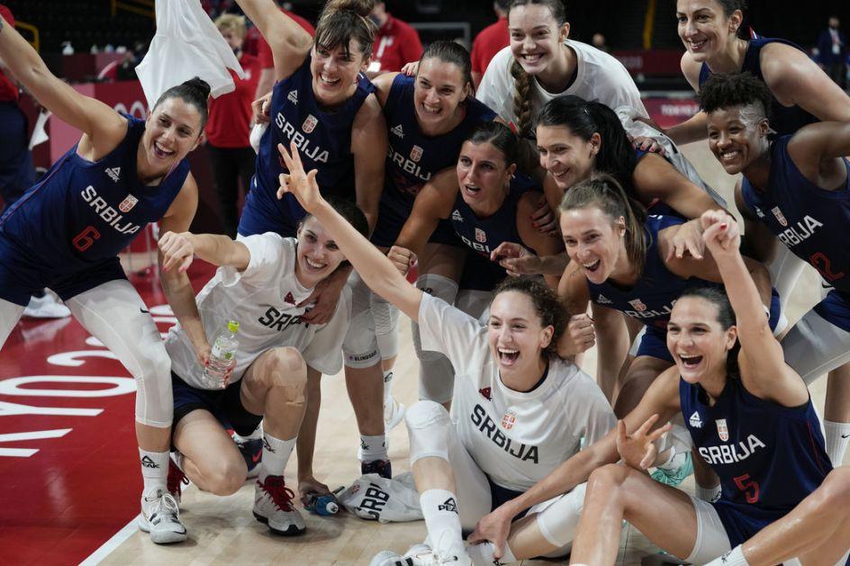 Košarkašice Srbije posle preokreta u polufinalu Olimpijskih igara!