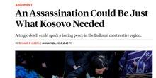 Zločinačka analiza: Ubistvo Ivanovića možda baš ono što je Kosovu bilo potrebno