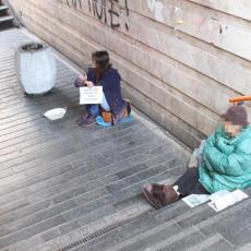 Zlupotreba dece za milostinju! Prose jer su siromašni: Koliko godina ima najmlađi prosjak u Beogradu?