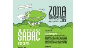 Zona Novog Optimizma i ovog leta u Šapcu od 28. jula do 1. avgusta