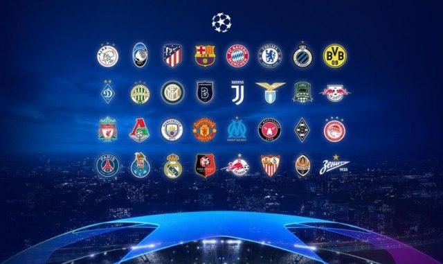 Žreb grupa Lige šampiona u 17 časova