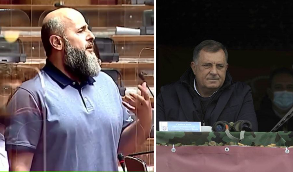 Zukorlic in the Assembly – What will Dodik do for you on Peshter – Dont bring him across the Drina to Sandzak!
