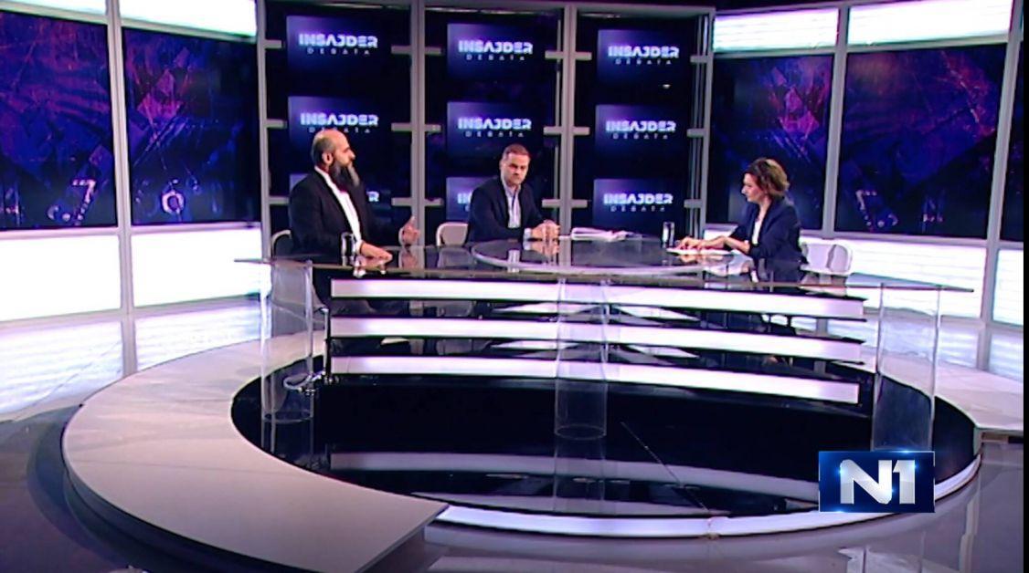 Zukorlić u Insajder debati: Može se biti partner sa vlašću, a pritom ne biti poltron