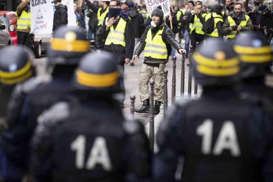 Žuti prsluci i nakon tri mjeseca još uvijek izlaze na ulice