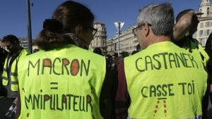 Žuti prsluci protestuju u Francuskoj 17. vikend zaredom