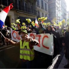 Žutih prsluka na ulicama sve manje: Francuska policija koristila suzavac u današnjem sukobu sa demonstrantima (VIDEO)