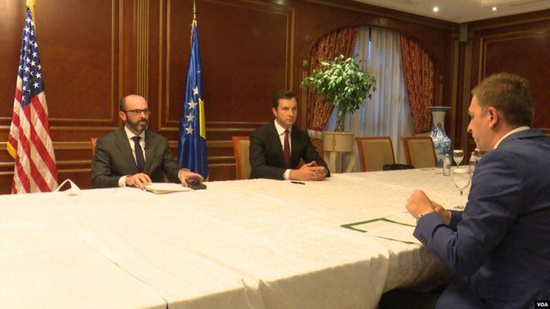 Zvaničnici SAD na Kosovu: Ekonomski dogovori ne zamenjuju političke razgovore u Briselu
