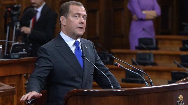 Zvaničnici o poseti Medvedeva