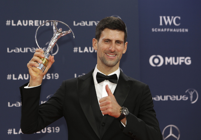 Zvezda čestitala Novaku, on ekspresno odgovorio (foto)
