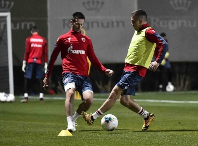 Zvezda odradila prvi trening u Turskoj