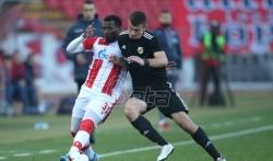 Zvezda pobedila Čukarički u poslednjoj utakmici ove godine u Super ligi