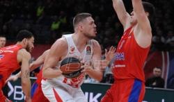 Zvezda poražena od CSKA Moskve u Beogradu