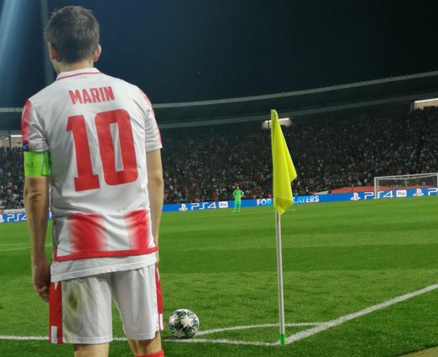 Zvezda se pohvalila - Niko kao Marko Marin! (foto)