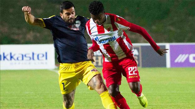 Zvezda ubedljiva u prvoj proveri na Kipru
