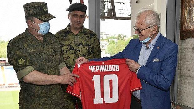 Zvezda ugostila ruske vojne stručnjake