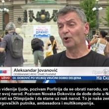 cuta poziva vidjenije ljude, Porfirija, Novaka da  stanu uz narod