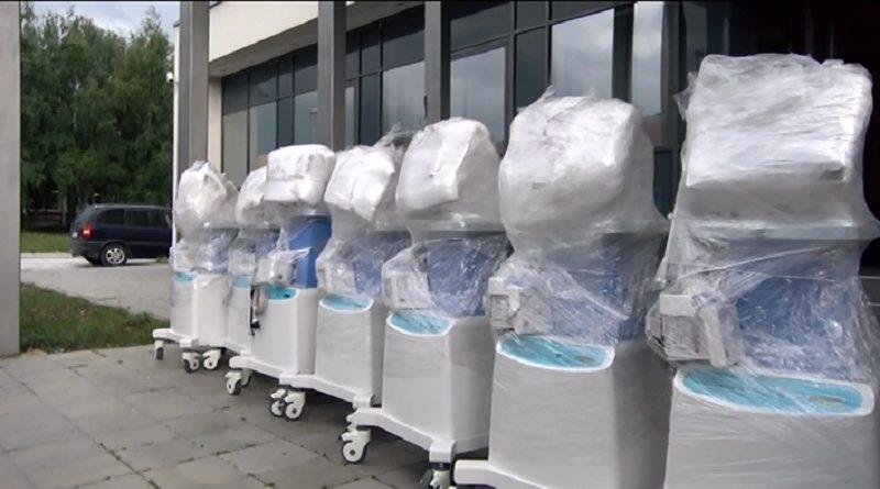 Ðerlek: Stiglo nam je deset novih respiratora