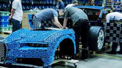 07.01.2019 ::: Bugatti Chiron od Lego kockica - da li je ovo igračka? (VIDEO)