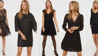 10 crnih party haljina za savršen prijelaz iz 2018. u 2019.