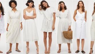 13 bijelih H&M haljina koje želimo nositi ovoga ljeta